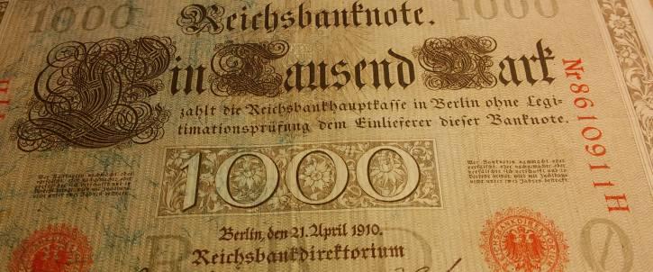 1000 Reichsmark Schein
