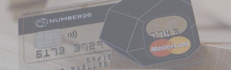 number26 wenn die kreditkarte etwas zu transparent ist der teilzeit investor. Black Bedroom Furniture Sets. Home Design Ideas